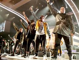 The Grammys tiptoed around Trump. Then <b>A Tribe Called Quest</b> ...