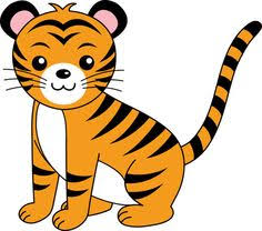 Image result for clipart tiger