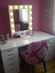 great vanity makeup table with lights makeup mirror charming makeup table mirror lights