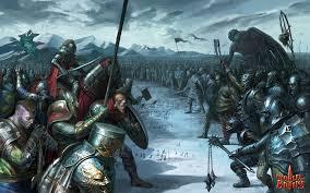 Resultado de imagem para medieval army combat