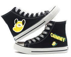 <b>Unisex</b> Fashion Kpop BTS <b>Shoes</b> High top <b>Canvas Flat Sneakers</b> in ...