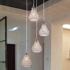 modern 4 light octagon bead bathroom pendant lights bathroom lighting pendants