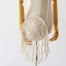 bag crochet straw