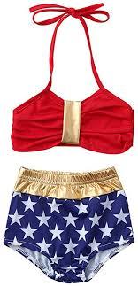 HEETEY <b>Infant</b> Kids <b>Baby Girls</b> Swimwear Star Straps Swimsuit ...