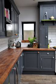Black Kitchen Cabinet Paint