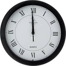"""<b>Часы настенные Вега</b> """"<b>Римская</b> классика"""", цвет: черный, белый ..."""