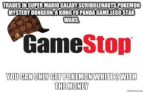 trades in super mario galaxy,scribblenauts,pokemon mystery dungeon ... via Relatably.com