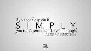 albert einstein on explaining it simply the best schools albert einstein explain it simply