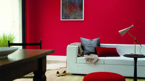 flamboyant red warms living spaces burnt red home office