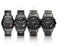 emporio armani ceramic men s watch black collection 4 styles