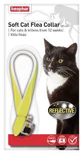 Beaphar <b>Soft Cat</b> Flea Collar - Reflective Yellow