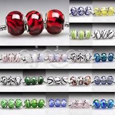 5/<b>10pcs</b> Murano Glass <b>European Spacer Beads</b> Lampwork Fit ...