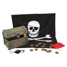 Melissa & Doug <b>Deluxe</b> Wooden <b>Pirate</b> Treasure Chest | <b>Pirate</b> ...
