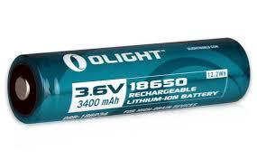 <b>Аккумулятор Li-ion Olight ORB-186P34</b> 18650 3,7 В. 3400 mAh ...