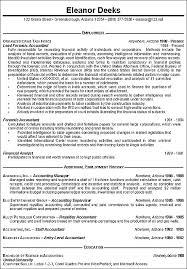 accountant resume sample b  seangarrette coaccountant