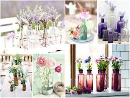 decor flowers tin glass