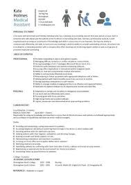 medical assistant resume samples sample assistant resume cover letter