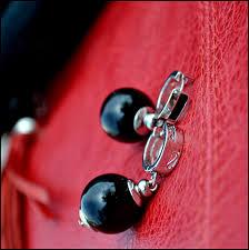 <b>Серьги Шанталь</b>: Агат, Родий, купить за 1 800руб.