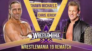 Wrestlemania XXX Shawn Michaels vs. Chris Jericho Wrestlemania. Wrestlemania XXX Shawn Michaels vs. Chris Jericho Wrestlemania 19 Rematch