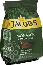 Купить <b>Кофе молотый Jacobs Monarch</b> Классический 70г с ...