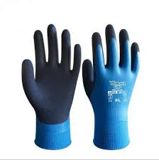 2019 <b>NMSAFETY Working Protective Gloves</b> Men Flexible Blue ...