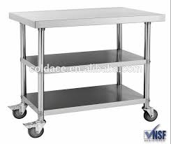 stainless kitchen work table: stainless steel  layer work table stainless steel  layer work table suppliers and manufacturers at alibabacom