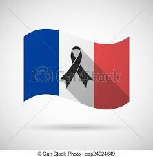 """Résultat de recherche d'images pour """"drapeau français en deuil"""""""