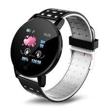 <b>119 Plus Smart Bracelet</b> Heart Rate Mens Wristband Sports Watch ...