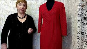 Творческие секреты О.С. Литвиной о вязании крючком. <b>Платье</b> ...