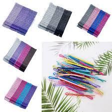 <b>50PCS</b> 6cm Candy Color <b>Hair Clips Wave Flat Hairpin</b> Metal ...