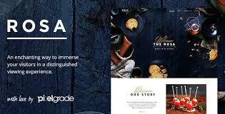 ROSA - An Exquisite Restaurant WordPress Theme by pixelgrade ...