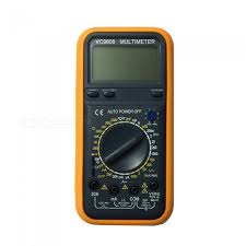 Ismartdigi VC9808 LCD Handheld Digital Multimeter Using for ...