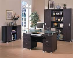 ultimate glass top office desk brilliant small home decoration ideas adorable glass top office