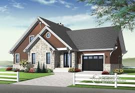 House plan W  V detail from DrummondHousePlans comfront   BASE MODEL to bedroom Transitional home   panoramic views  open floor
