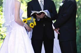 Image result for images of a bride and groom at the altar