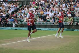 Londons Calling and Becks Answering NBC New York I watched the Mens Doubles Final as the Bryan Brothers captured their career Golden Slam. Mike and Bob bounced Joe Willie Tsonga and Michael Llodra of.