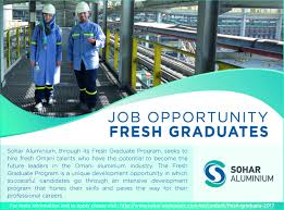 sohar aluminium linkedin job opportunity for fresh graduates lnkd in fgshgah