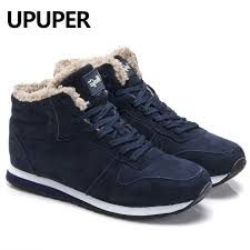 Plus Size <b>Winter Men</b> Sneakers Genuine Leather <b>Winter</b> Warm ...