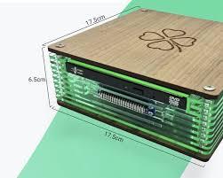 <b>Мини</b>-<b>ПК</b> на базе Rock Pi 4B или <b>Raspberry Pi</b> 4 работает под ...