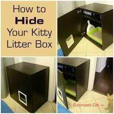 hide cat litter box diy cat box cabinet catbox litter box enclosure