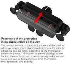 Black Yowanted <b>Universal Gravity Car</b> Air Vent Mount Bracket ...