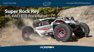 Losi® Super Rock Rey® AVC® 1/6 <b>4WD</b> RTR Rock Racer - YouTube