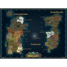 World of Warcraft Poster by Silk Printing # Size about ... - Amazon.com