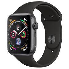 <b>Умные часы Apple Watch Series 4</b> MU6D2 GPS 44mm Gray ...