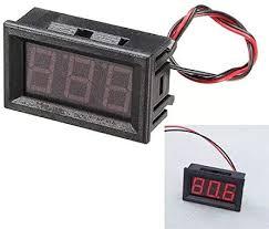 YJIA <b>3Pcs 0.56 Inch</b> Red AC70-500V Mini Digital Voltage Voltmeter ...