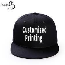 <b>Lanmaocat Custom Print Hip</b> Hop Cap Men or Women Snapback ...