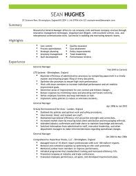 general manager cv example for management   livecareerby clicking build your own  you agree to our terms of use and privacy policy