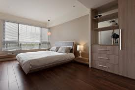 astonishing apartment bedroom design with louvered window blinds and low profile beds on solid hardwood floors as well as natural brown mahogany shelves bedroomastonishing solid wood office