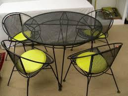 wrought iron mesh patio furniture black mesh black wrought iron patio furniture