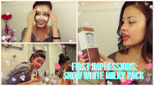 First Impressions Secret Key <b>Snow White Milky</b> Pack Whitening ...